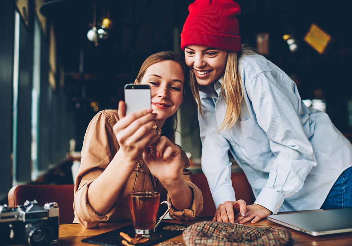 Friends & online chats